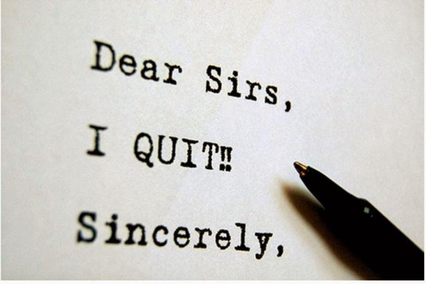 I quit! – The Schway